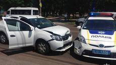 ДТП з потерпілими у Борисполі: поліцейське авто спричинило аварію. Фото