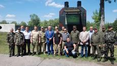 На Бориспільщині висадили Алею пам'яті загиблим учасникам АТО. Фото