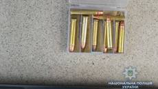 Житель Бориспільського району перевозив в автівці чотири рушниці та патрони. Фото