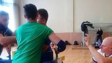 Армреслери Київщини помірялися силами на чемпіонаті області у Борисполі. Відео