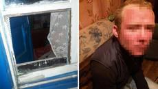 У Борисполі нетверезий чоловік проник у будинок літньої жінки та силою намагався її роздягнути. Фото