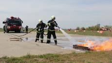 Нову протипожежну «Пантеру» презентували в аеропорту «Бориспіль». Фото