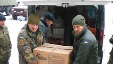 Волонтери Борисполя доставили гуманітарну допомогу в зону АТО та розпочали збір коштів на безпілотник