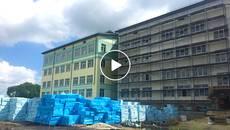 Будівництво нової школи у Борисполі на завершальному етапі. Відео