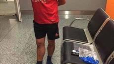 Жителя Борисполя затримали під час збуту марихуани в терміналі аеропорту. Фото