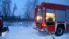 Вогняна ніч: рятувальники Бориспільщини тричі виїжджали на гасіння пожеж. Фото