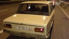 Патрульні Борисполя зупинили водія «під наркотиками» – в авто виявили заборонені речовини. Фото