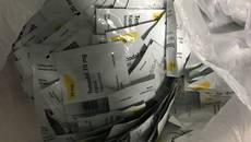 Партію медпрепаратів майже на півмільйона гривень виявили в аеропорту «Бориспіль». Фото