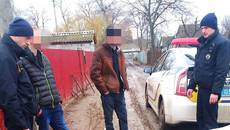 Патрульні Борисполя «за гарячими слідами» затримали двох нетверезих крадіїв