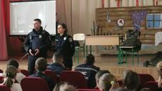 Рятувальники та поліцейські провели уроки безпеки для бориспільських школярів
