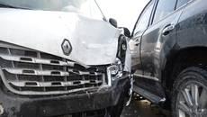 Масштабна ДТП у Борисполі: зіткнулися п'ять автівок, є постраждалий (ФОТО)