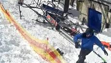 На курорті Гудаурі у Грузії сталася аварія на підйомнику: постраждало двоє українців. Відео