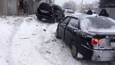 8 ДТП протягом дня: через негоду у Борисполі почастішали випадки дорожньо-транспортних пригод. Фото