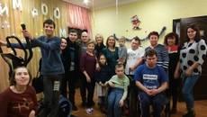 Волонтери зібрали 160 тисяч гривень на тренажери для реабілітаційного центру «Наш дім». Фото