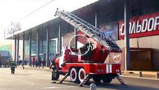 Пожежа в «Аеромолі»: рятувальники Київщини перевірили пожежну безпеку в ТРЦ. Відео