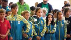 «Бобридіада-2018» у Борисполі: чотириста спортсменів позмагалися у турнірі з плавання. Відео