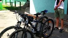 Патрульні Борисполя затримали ймовірного крадія велосипедів. Фото