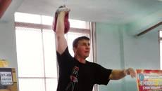 Бориспілець Євгеній Биков – призер Кубку України з гирьового спорту. Фото