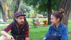 Ексклюзивний «патріотичний зошит»: як львів'янин популяризує Бориспіль. Відео