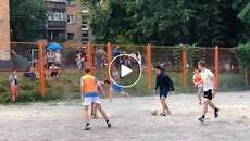 Вуличний футбол на «Орбіті»: відбувся третій етап «Битви дворів». Відео
