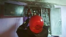У Борисполі через коротке замикання в одній з багатоповерхівок виникло сильне задимлення. Фото
