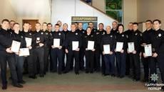 Двох бориспільських патрульних МВС нагородило за порятунок жінки. Фото