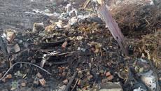 Поліцейські «на гарячому» спіймали комунальника, який вивозив брухт на стихійне сміттєзвалище у Борисполі. Фото