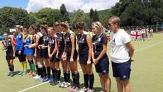 Команда дівчат із Борисполя виборола срібло на Міжнародному турнірі з хокею на траві у Болгарії. Фото