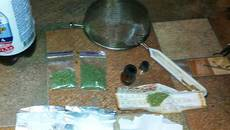 Двох молодиків з наркотиками затримали «на гарячому» патрульні Борисполя. Фото
