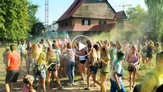 Фестиваль фарб Холі вперше відбувся у Борисполі. Відео
