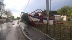 Внаслідок негоди у Бориспільському районі були знеструмлені 8 населених пунктів