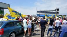 «Доступні ціни на розмитнення авто» – вимога учасників автопробігу у Борисполі. Відео