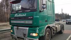 На викраденій вантажівці та під наркотиками: патрульні Борисполя затримали правопорушника. Фото