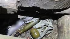 Гранати, запали, набої: поліцейські вилучили боєприпаси у 43-річного жителя Бориспільщини. Фото