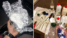 Нарколабораторія у Борисполі: правоохоронці вилучили амфетаміну на 160 тисяч гривень. Фото