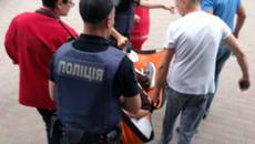 Патрульні поліцейські Борисполя врятували життя людині з ознаками епілептичного нападу