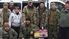 Військовим з Борисполя, які служать у зоні АТО, відправили допомогу