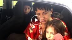Побили та виштовхали на вулицю: у Борисполі мати з дітьми опинились надворі. Відео
