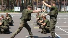 Центр підготовки підрозділів НГУ у с. Старе відсвяткував першу річницю