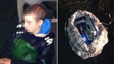 Патрульні Борисполя затримали чоловіка, який викрав інструменти з будівельного вагончика. Фото
