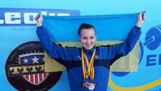 Бориспільська спортсменка посіла призове місце на Чемпіонаті Європи з пауерліфтингу. Фото