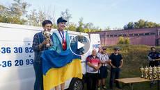 Мешканка Борисполя Олександра Ілюхіна – чемпіонка Європи із практичної стрільби з рушниці. Відео
