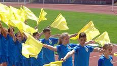 «Олімпійське лелеченя»: бориспільські діти позмагалися у спортивних конкурсах