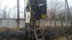 Пожежа у Борисполі: вогонь знищив електричні прилади у трансформаторі. Фото