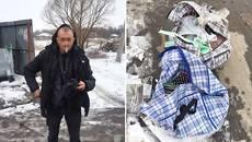 Патрульні Борисполя затримали чоловіка, який намагався збути імовірно викрадені речі. Фото