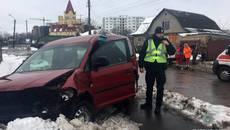 Водій напідпитку спричинив ДТП у Борисполі: постраждало двоє людей. Фото