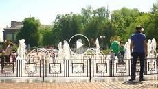 Сезон фонтанів 2017 у Борисполі відкрито! Відео