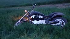 Водій «під наркотиками» намагався втекти від патрульних на краденому мотоциклі. Фото