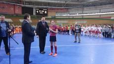 На Міжнародному турнірі з індорхокею у Мінську бориспільська команда виборола призове місце. Фото