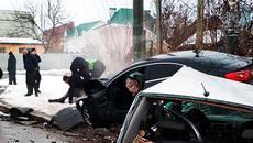 Подробиці ДТП на Польовій: водія затримано, в авто виявили боєприпаси та іноземні номери. Фото